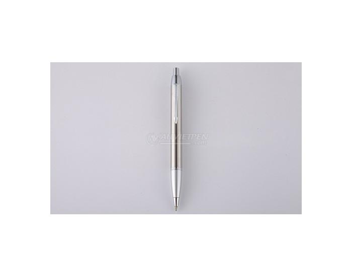 Bút bi bấm Parker IM màu bạc