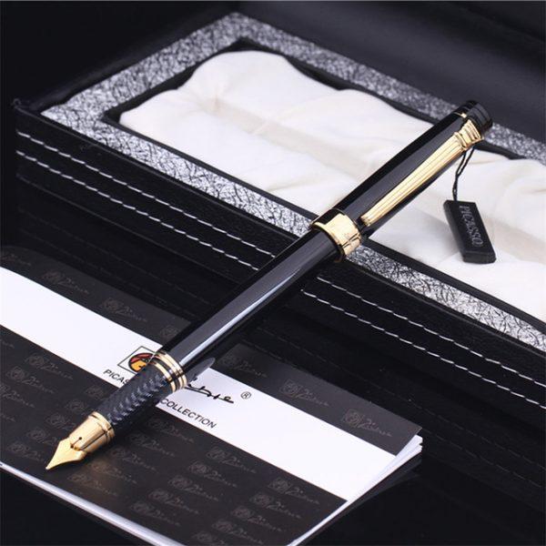 Bộ quà tặng bút Picasso-917 FGBK - Kèm lọ mực