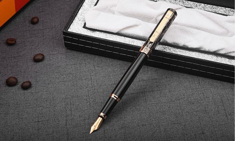 Bộ quà tặng bút Picasso S-902 FGBK(HV) - Kèm lọ mực