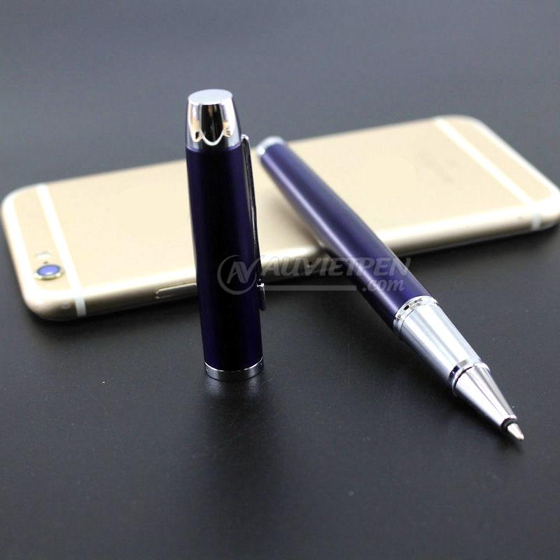 Bút Parker IM xanh cài trắng